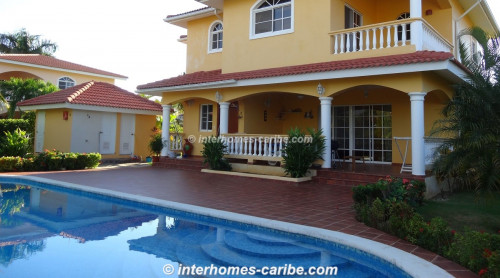 photos for SOSUA: VILLA GREGOR WITH OCEAN VIEW