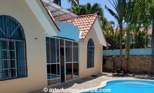 photos for SOSUA CENTER: 3 BEDROOM VILLA WITH SOLAR POWER SUPPLY