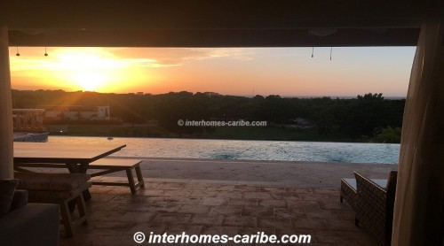 thumbnail for SOSUA: RENTAL 3 BEDROOM VILLA WITH FANTASTIC OCEAN VIEW